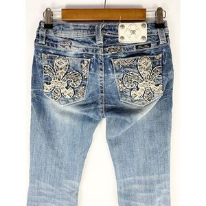 Miss Me Boot Cut Jeans Girls 16